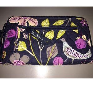 Vera Bradley Floral Nightingale Wristlet Wallet